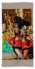Las Vegas Showgirls Beach Sheet