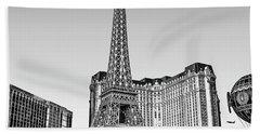 Las Vegas Skyline Beach Towel by Walt Foegelle