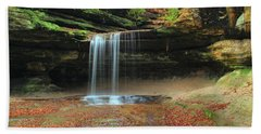 Lasalle Canyon Waterfall 3 Beach Towel