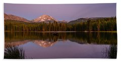 Lassen Peak Beach Towel