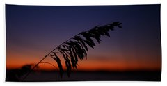 last light at Hilton Head Island Beach Towel by Shane Holsclaw