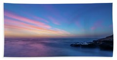 Last Light In April, Sunset Clifs Beach Towel
