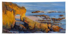 The Golden Hour / Laguna Beach Beach Towel