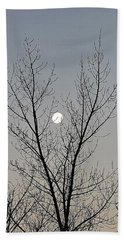 Last Winter Moon Beach Towel