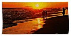 Lasting Memory Beach Sheet