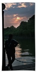 Late Afternoon On West Lake Beach Towel