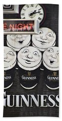 Late Night Guinness Limerick Ireland Beach Towel