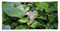 Late Season Trillium Beach Towel