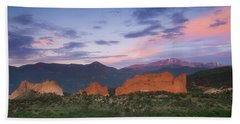 Beach Towel featuring the photograph Late Spring Sunrise by Tim Reaves
