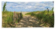 Late Summer Stroll Beach Sheet