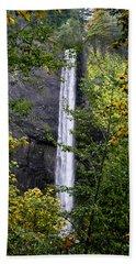 Latourell Falls Beach Towel