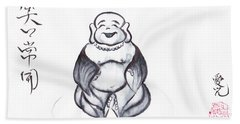 Laughing Buddha Beach Sheet