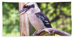 Laughing Kookaburra Beach Sheet