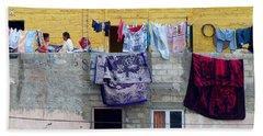 Laundry In Guanajuato Beach Sheet