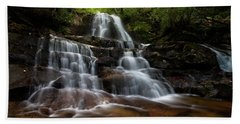 Laurel Falls Great Smoky Mountains Tennessee Beach Towel