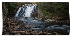 Laurel Falls In Autumn #1 Beach Towel
