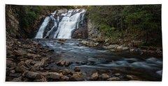 Laurel Falls In Autumn #1 Beach Sheet