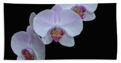 Lauritzen Gardens Orchids Beach Towel