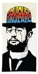 Lautrec Beach Towel by Gary Grayson