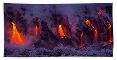 Lava Drips Beach Sheet