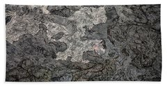 Beach Sheet featuring the photograph Lava Flow by M G Whittingham