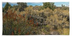 Lava Formations Beach Towel by Cindy Murphy - NightVisions