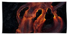 Lava River Beach Towel