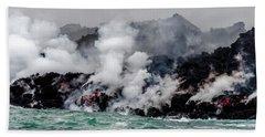 Lava Shelf Beach Towel