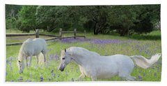 Lavender Pastures Beach Sheet