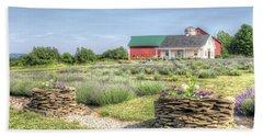 Lavender Farm Beach Towel