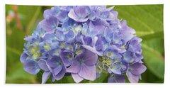 Lavender Hydrangea Beach Sheet