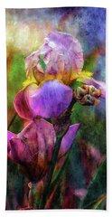 Lavender Iris Impression 0056 Idp_2 Beach Sheet