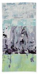 Lavender Landscape Beach Towel