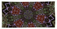 Lavender Mandala 1 Beach Sheet