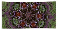 Lavender Mandala 2 Beach Sheet