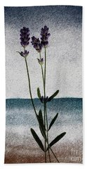 Lavender Ocean Breath Beach Towel