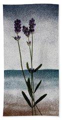 Lavender Ocean Breath Beach Sheet