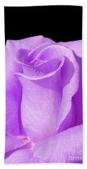 Lavender Rose Beach Towel