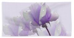Lavender Roses  Beach Towel