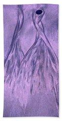 Lavender Sand Dancers Beach Towel