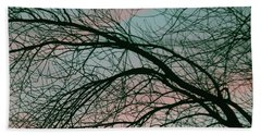 Lavish Sky Beach Towel by The Art Of Marilyn Ridoutt-Greene