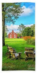 Adirondack Chair Viewing Beach Towel