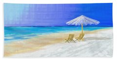 Lawn Chairs In Paradise Beach Towel
