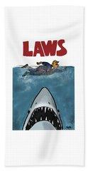 Laws Beach Towel