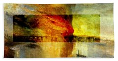 Layered 12 Turner Beach Towel by David Bridburg