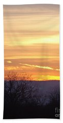 Layered Sunlight  Beach Towel