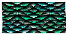 Layers Abstract Beach Towel