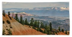 Layers And Light At Bryce Canyon Beach Towel
