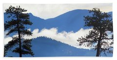 Layers Of Nature Beach Towel