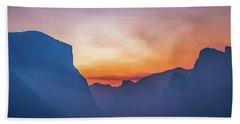 Layers Of Yosemite Beach Sheet